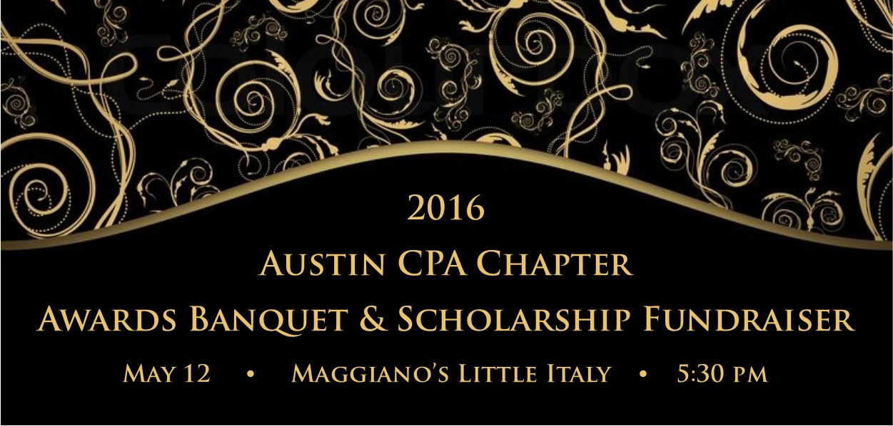 2016 Awards Banquet & Scholarship Fundraiser