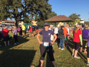 Austin CPA Chapter Past President Christi Mondrik participated in the ZERO Prostate Cancer Fun Run on November 12, 2016.
