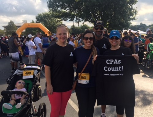 CPAs Count! at the St. Jude Run/Walk