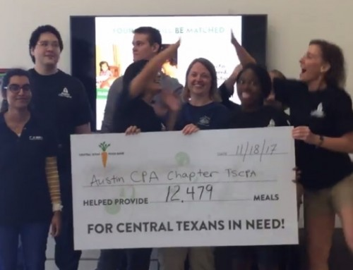 CPAs Count! in the Community & TSCPA Month of Service