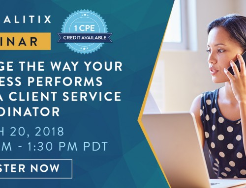 FREE Panalitix Webinar: Change the Way Your Business Performs with a Client Services Coordinator – March 20