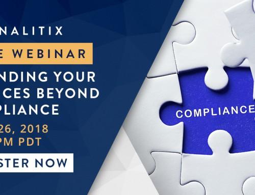 FREE Panalitix Webinar: Expanding Your Services Beyond Compliance – April 26