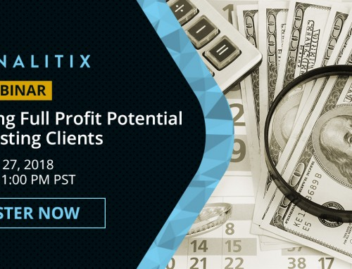 FREE Panalitix Webinar: Achieving Full Profit Potential with Existing Clients – July 27